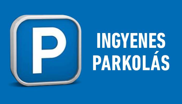 Parkolás igénylése